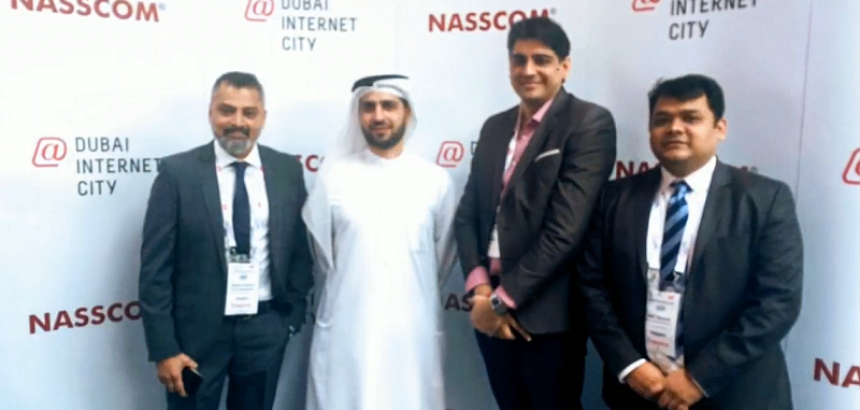 QualityKiosk meets head of Dubai Internet city as part of NASSCOM Delegation