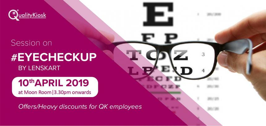 QualityKiosk Conducts Eye Checkup Camp for All Employees