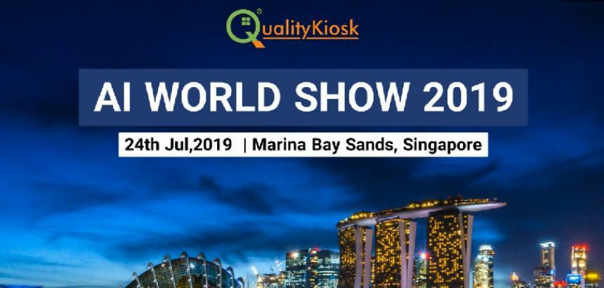 QUALITYKIOSK PARTICIPATES IN THE WORLD AI SHOW 2019 IN SINGAPORE