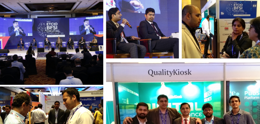 QUALITYKIOSK PARTICIPATES IN ET CIO BFSI CONCLAVE ON 30TH JANUARY, 2019