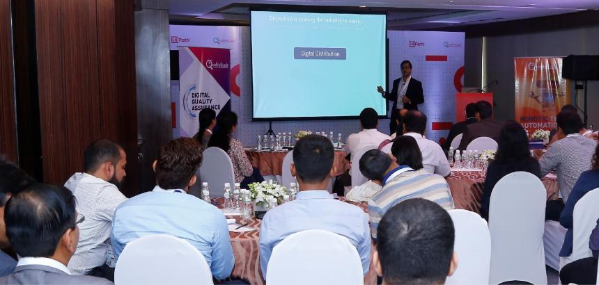 """QUALITYKIOSK & UIPATH JOINTLY HOST """"AUTOMATION FIRST CXO ROUND TABLE"""" EVENT IN MUMBAI"""